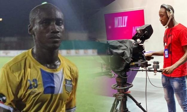 Un joueur du championnat Ivoirien désormais cameraman à Life TV