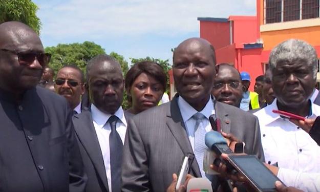 Visite du 1er Ministre Ivoirien sur les sites des Jeux de la Francophonie