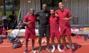 Yaya Touré assiste à l'entrainement de Liverpool sur invitation de Sadio Mané